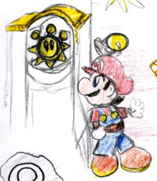 Sneaking around the Shine Gate